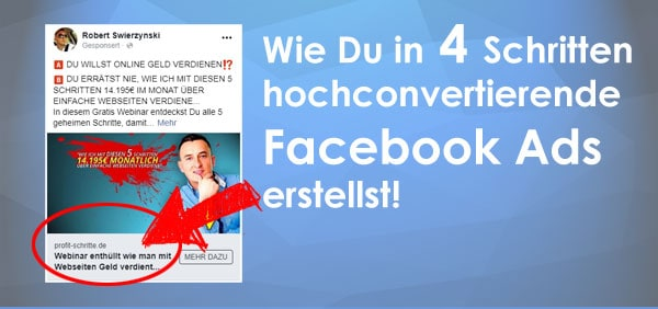 Profitable Facebook Ads – So geht's